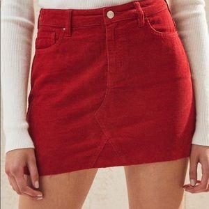 Pacsun Corduroy Mini Skirt